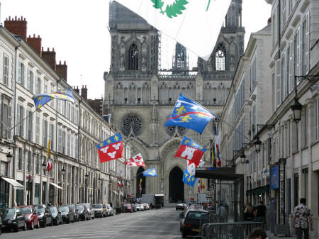 Rue Jeanne d'Arc, Orleans France